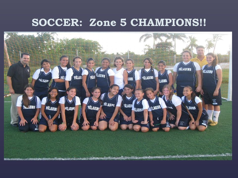 SOCCER: Zone 5 CHAMPIONS!!
