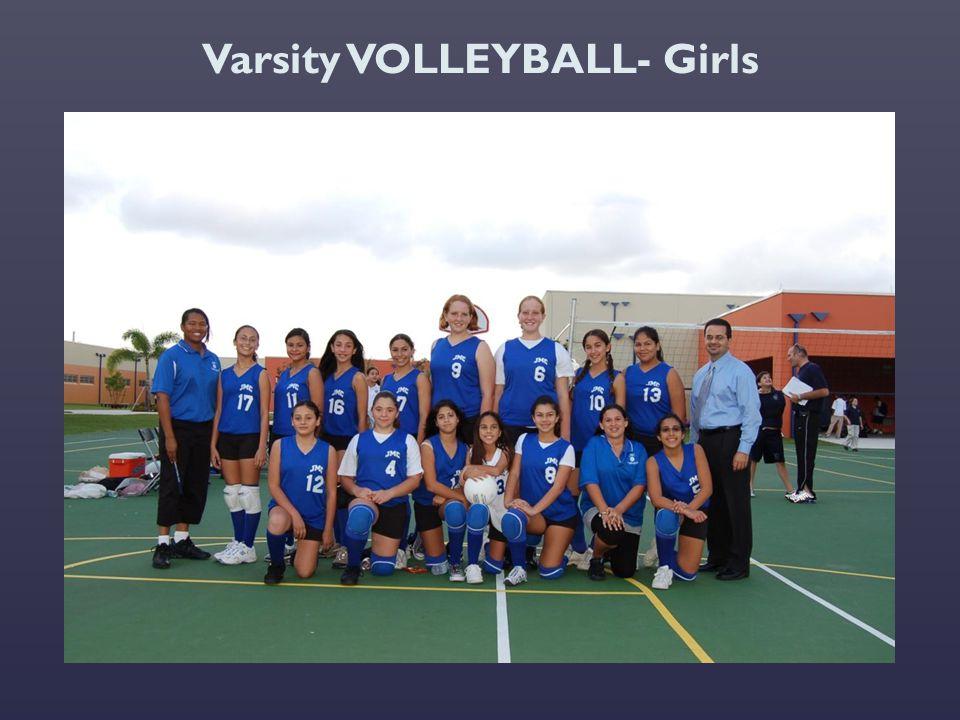 Varsity VOLLEYBALL- Girls