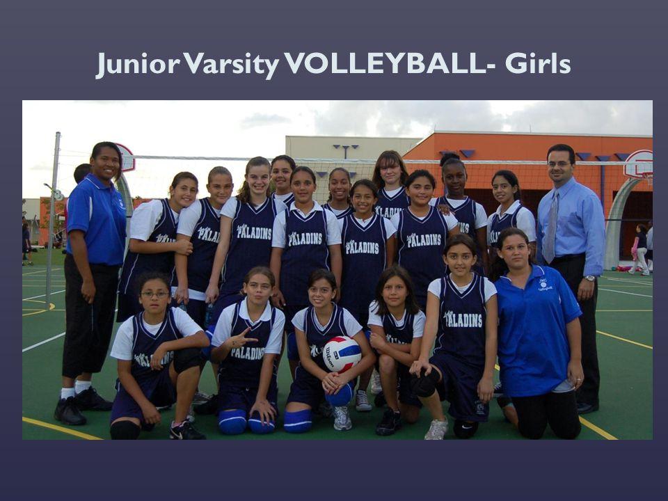 Junior Varsity VOLLEYBALL- Girls
