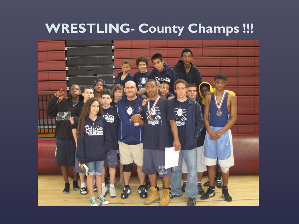 WRESTLING- County Champs !!!
