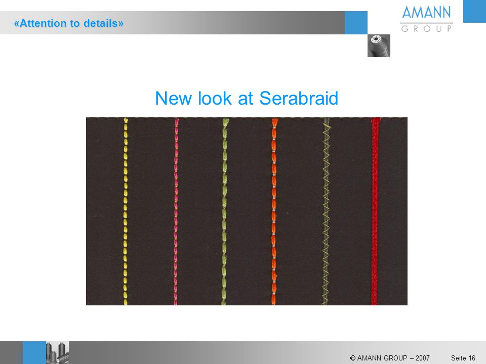 New look at Serabraid «Attention to details»