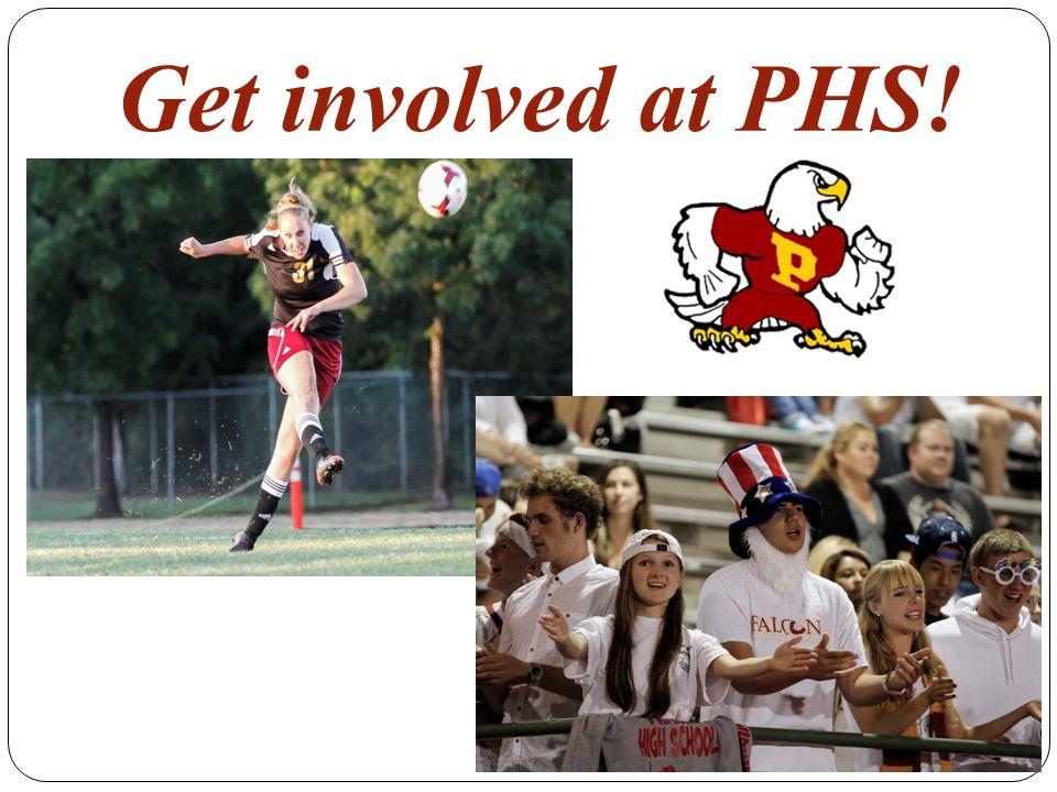 Get involved at PHS!