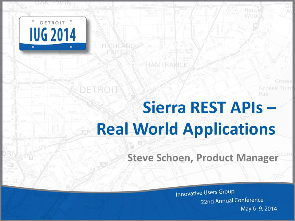 Sierra REST APIs – Real World Applications