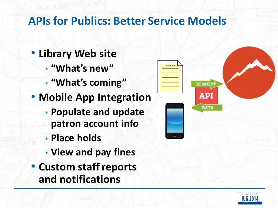 APIs for Publics: Better Service Models