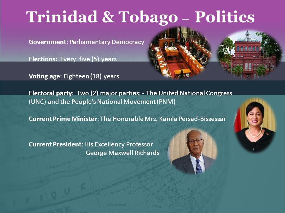 Trinidad & Tobago – Politics