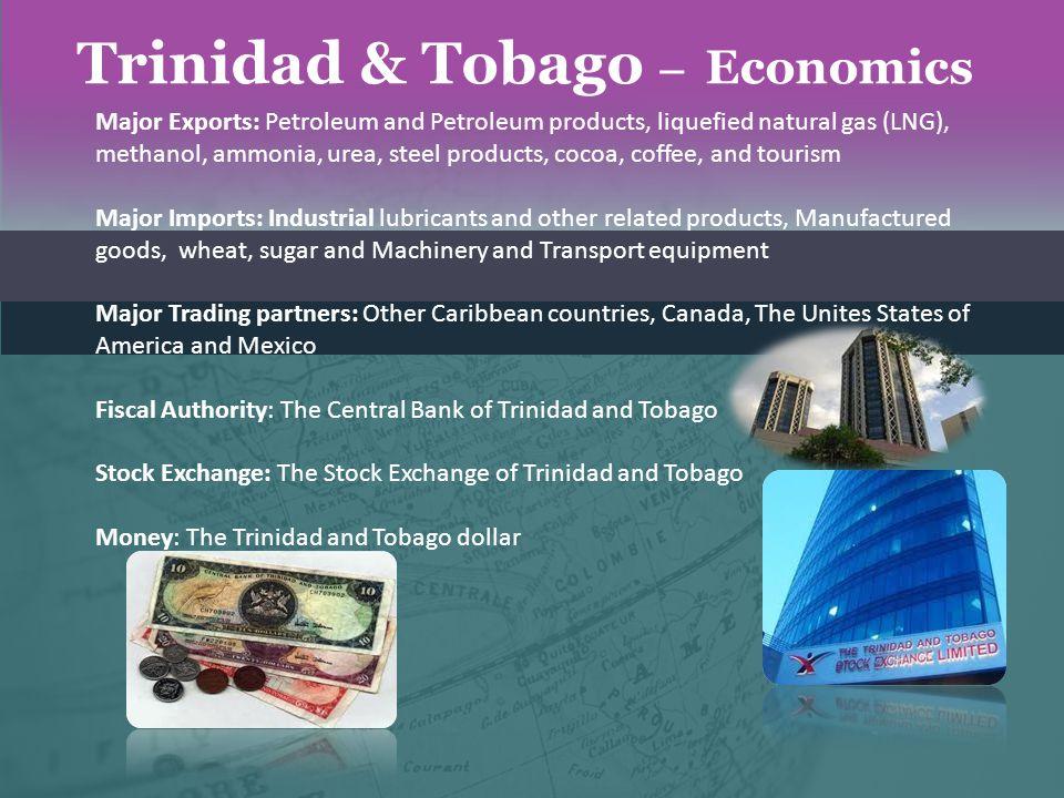 Trinidad & Tobago – Economics