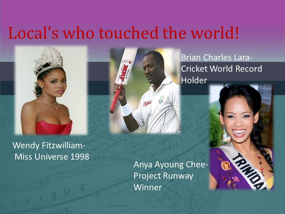 Local's who touched the world!