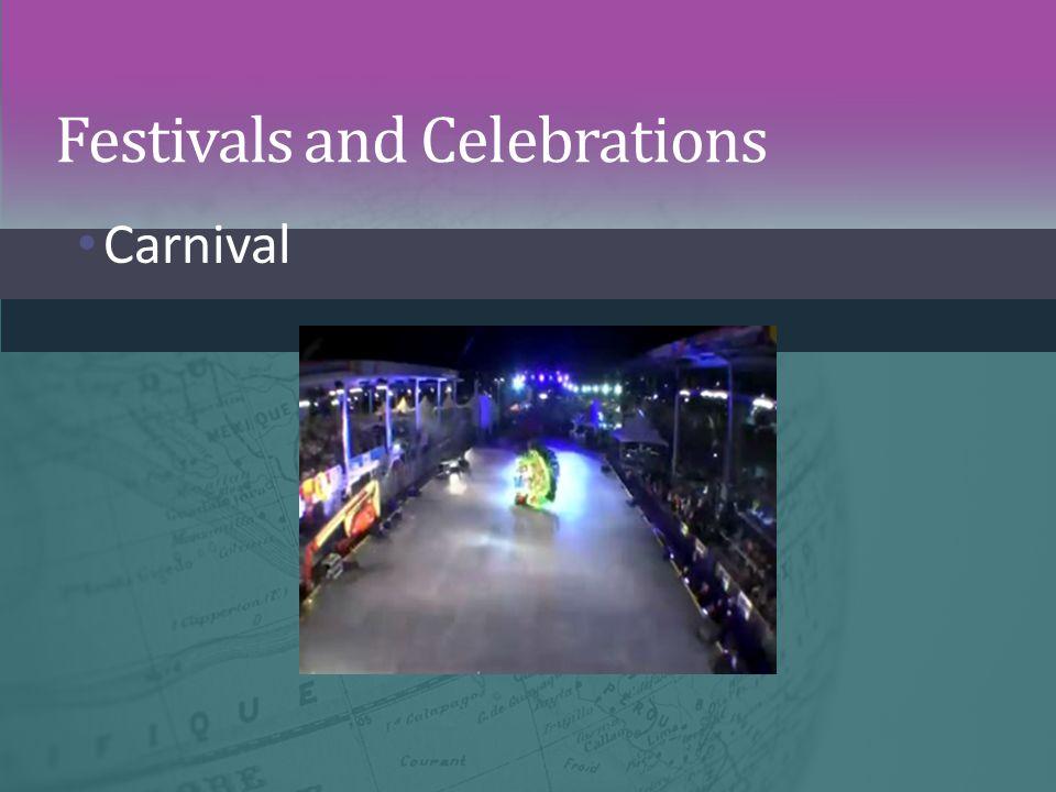Festivals and Celebrations