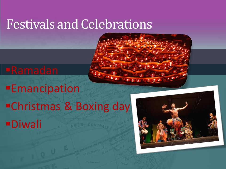Festivals and Celebrations