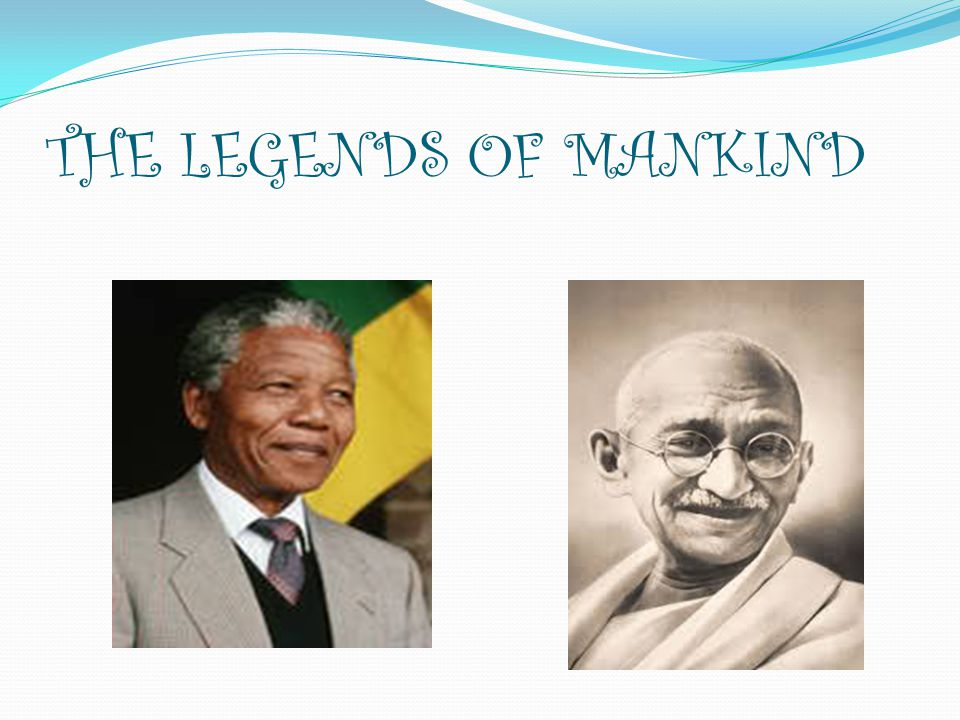 THE LEGENDS OF MANKIND