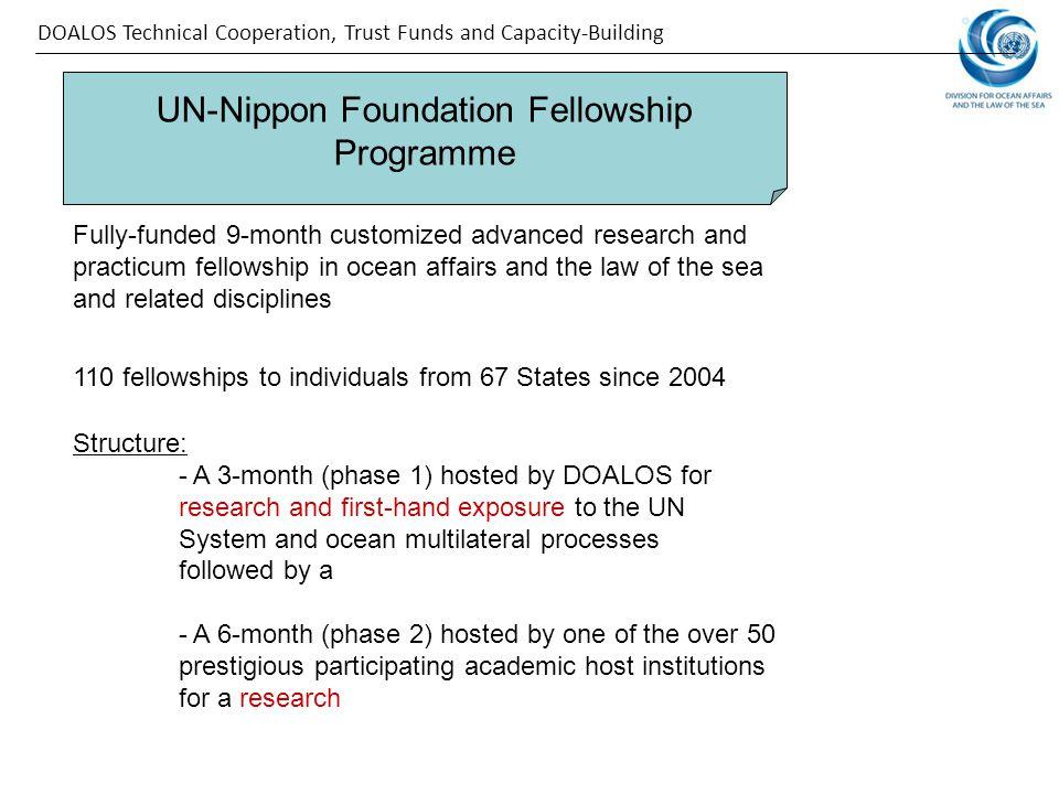 UN-Nippon Foundation Fellowship Programme