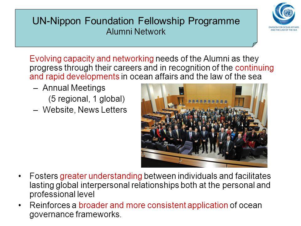 UN-Nippon Foundation Fellowship Programme Alumni Network