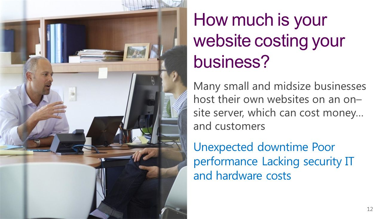 How much is your website costing your business