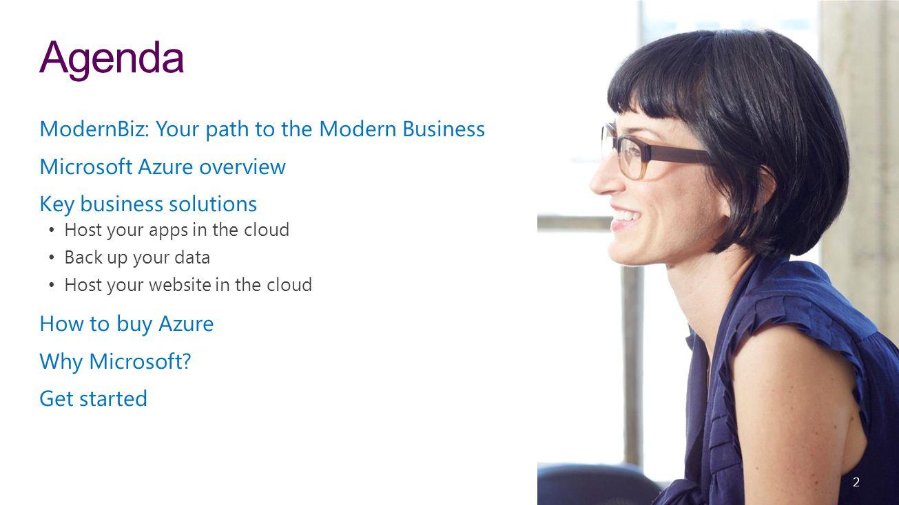 Agenda ModernBiz: Your path to the Modern Business