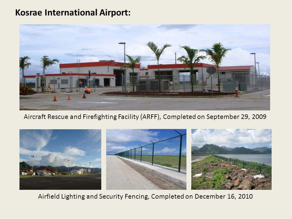 Airfield Lighting and Security Fencing, Completed on December 16, 2010