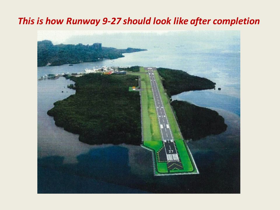 This is how Runway 9-27 should look like after completion