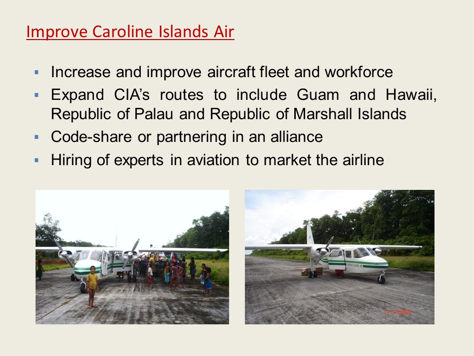 Improve Caroline Islands Air