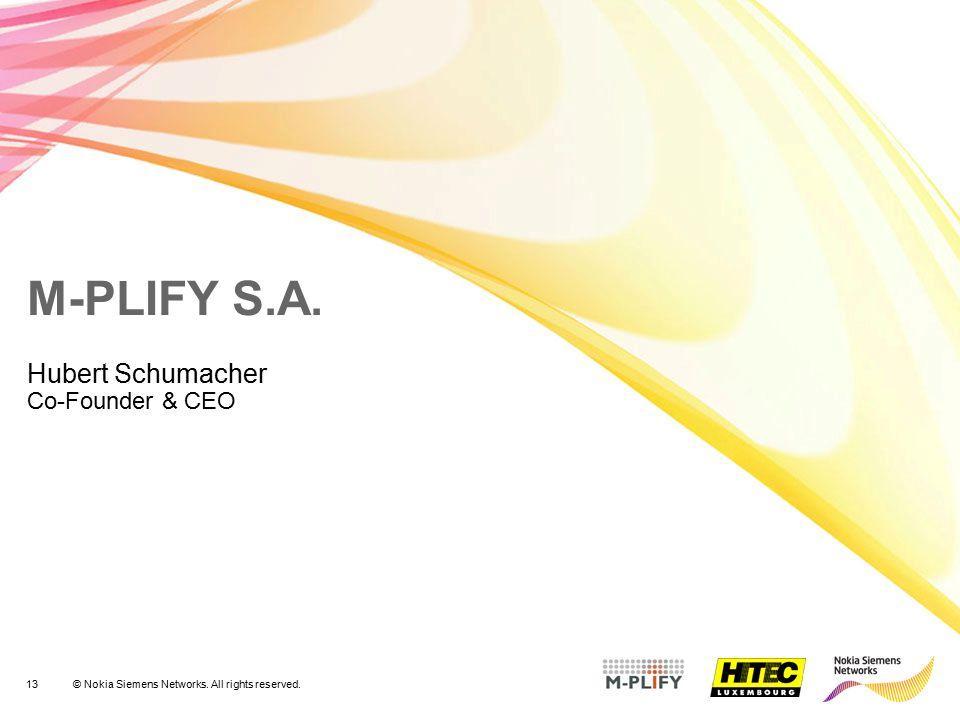 Hubert Schumacher Co-Founder & CEO