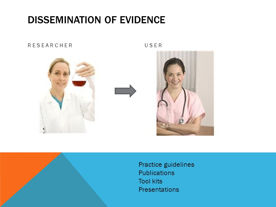 Dissemination of evidence