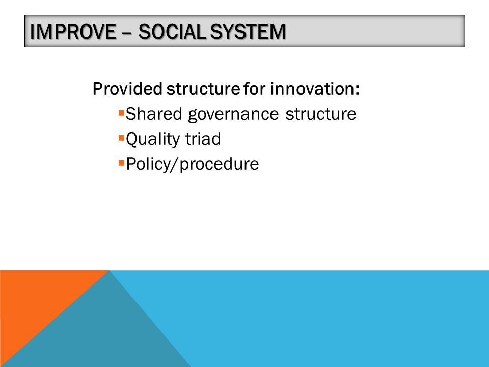 Improve – Social System