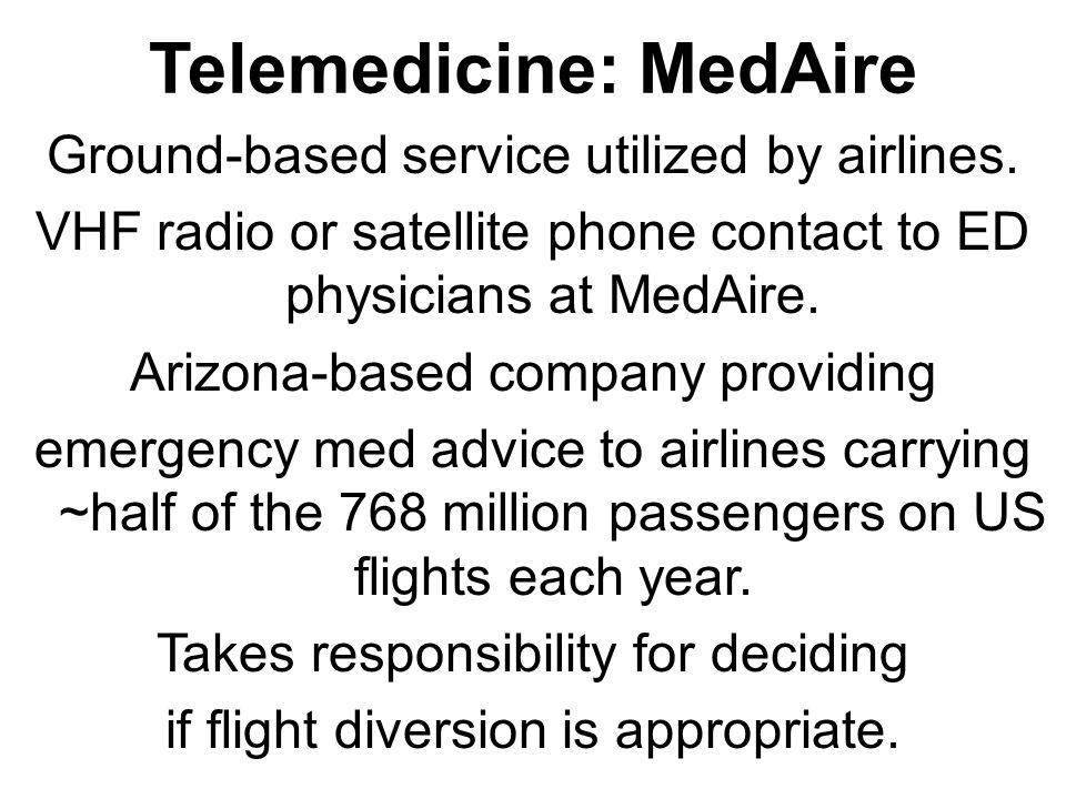 Telemedicine: MedAire