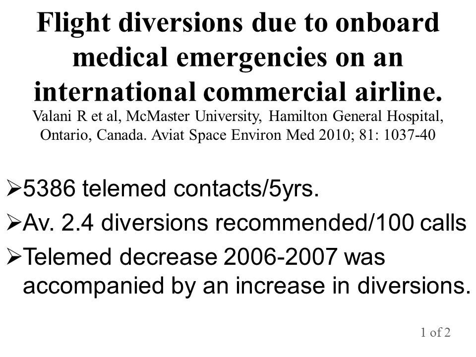 Flight diversions due to onboard medical emergencies on an international commercial airline.