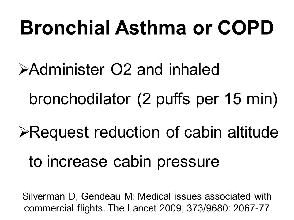 Bronchial Asthma or COPD