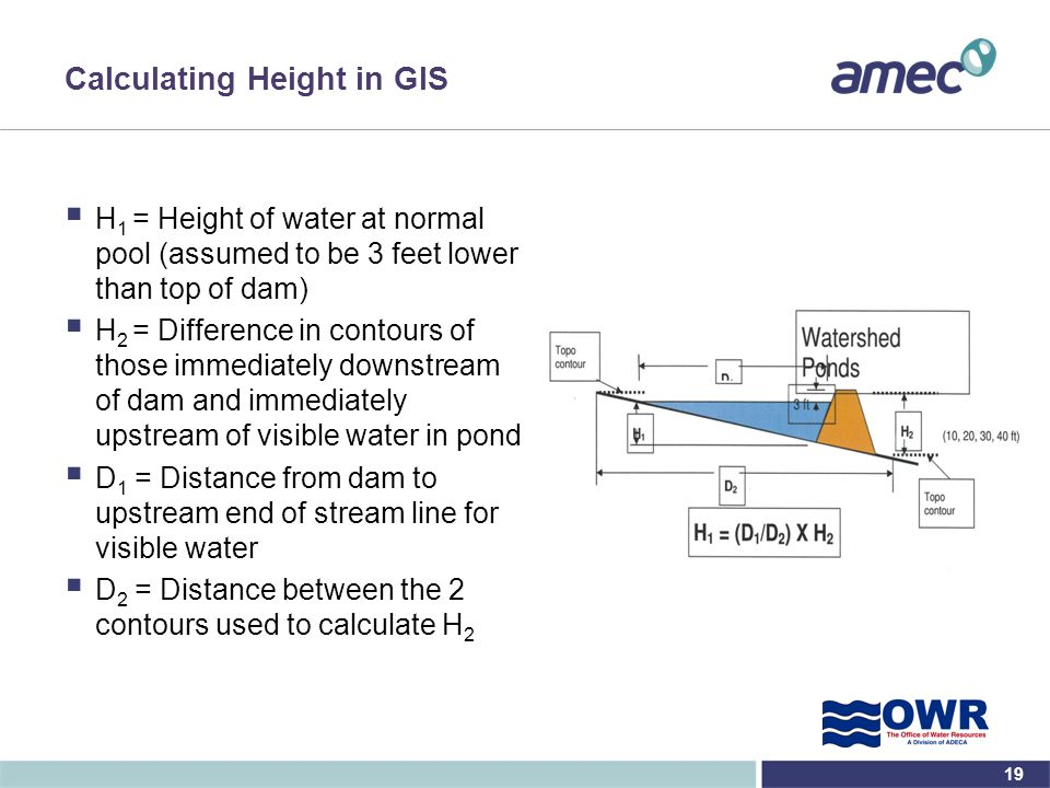 Calculating Height in GIS
