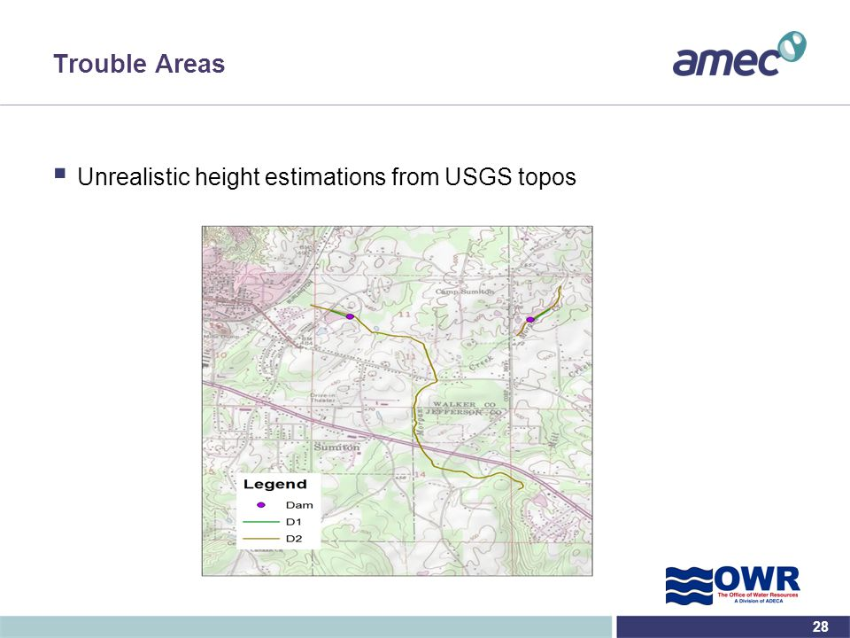 Trouble Areas Unrealistic height estimations from USGS topos