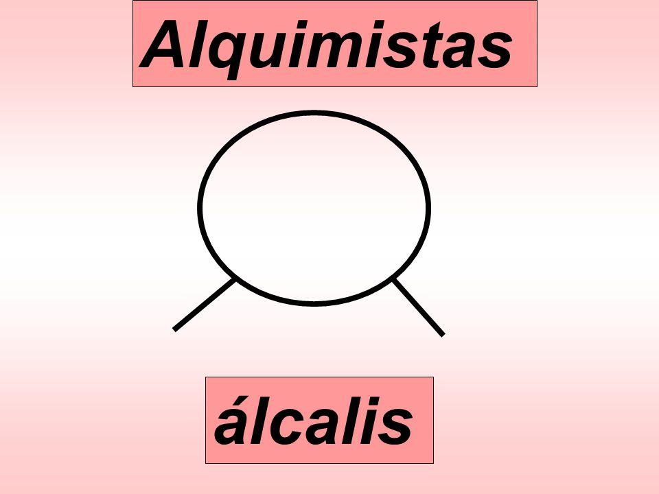 Alquimistas álcalis
