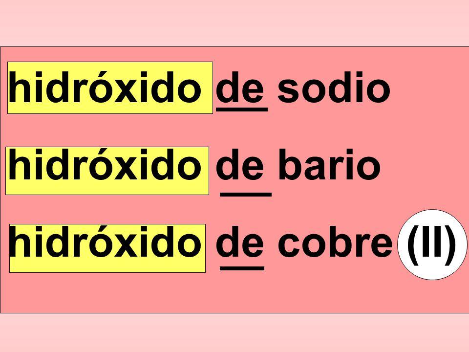 hidróxido de cobre (II)