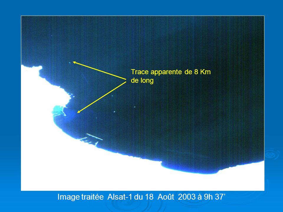 Image traitée Alsat-1 du 18 Août 2003 à 9h 37'