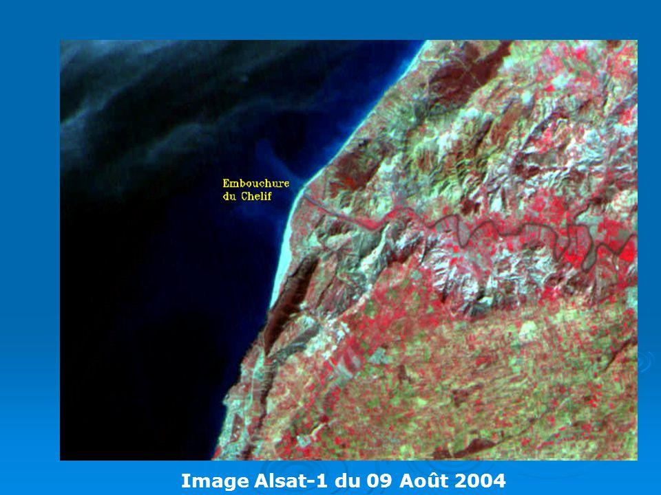 Image Alsat-1 du 09 Août 2004