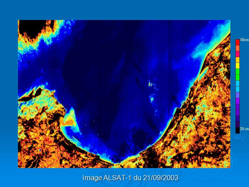 25 CN 55CN Image ALSAT-1 du 21/09/2003