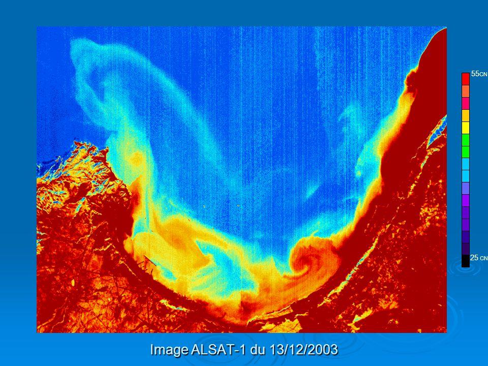 ALSAT-1 25 CN 55CN Image ALSAT-1 du 13/12/2003