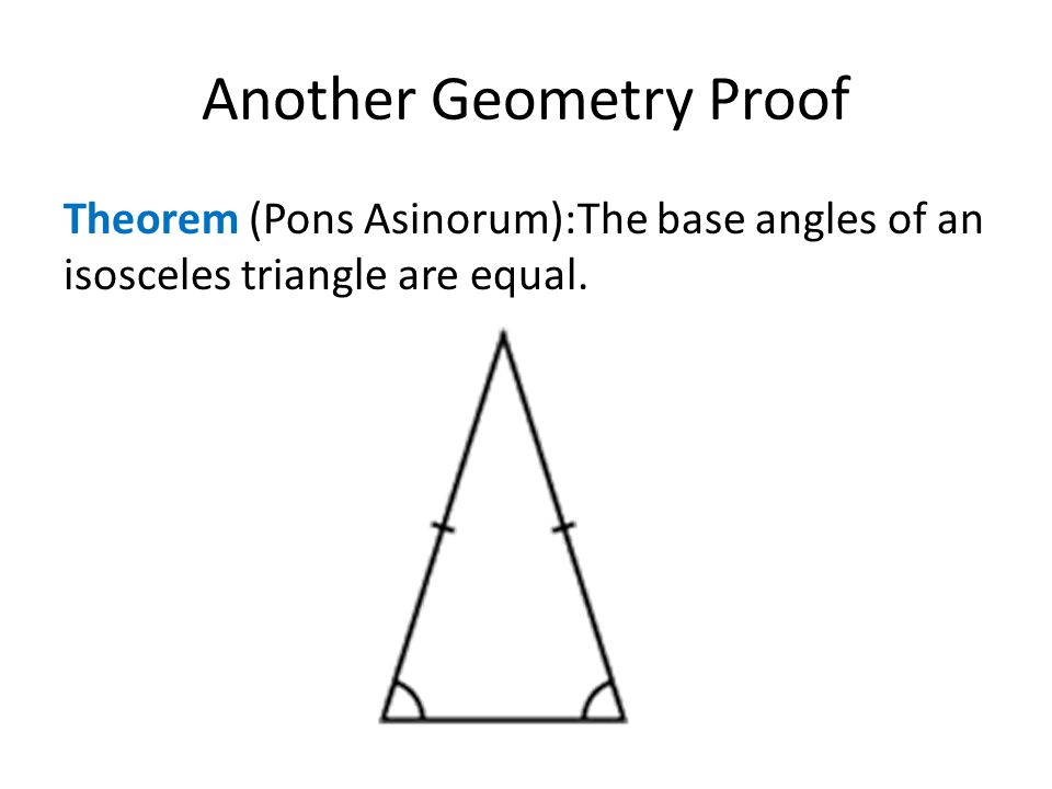 Another Geometry Proof