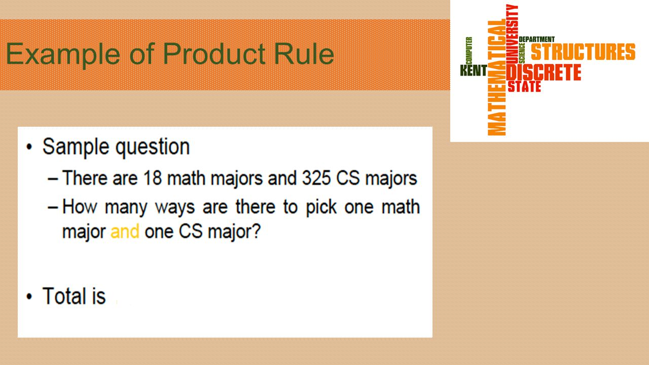 Example of Product Rule