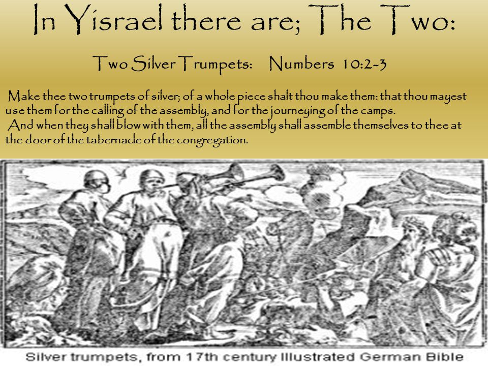 Two Silver Trumpets: Numbers 10:2-3