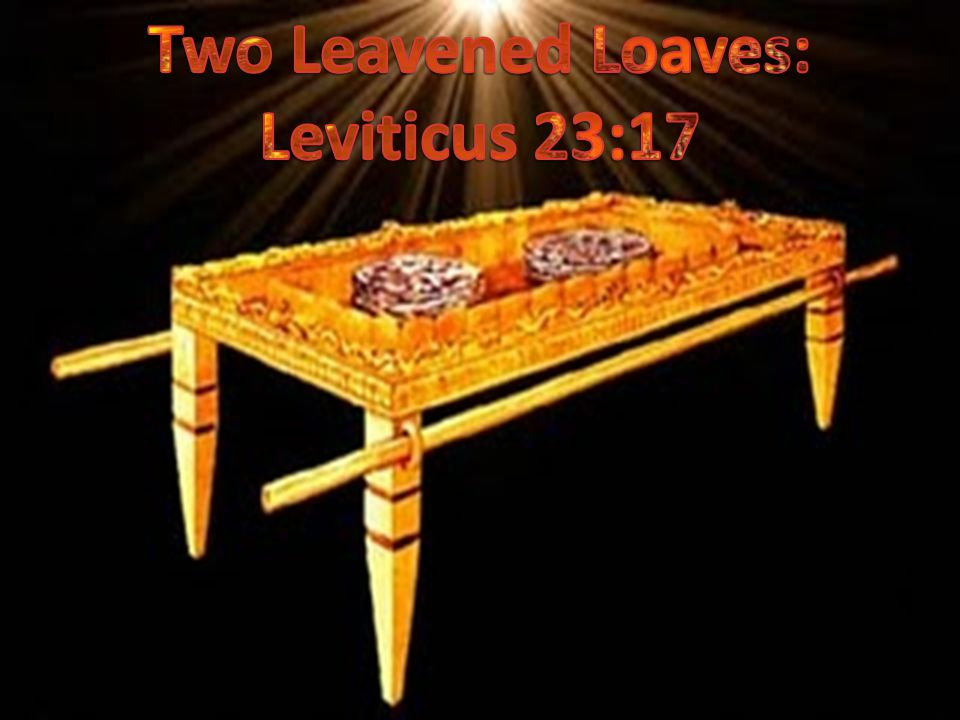 Two Leavened Loaves: Leviticus 23:17