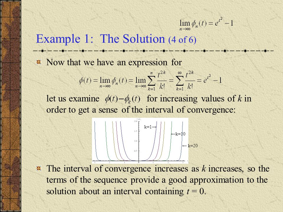 Example 1: The Solution (4 of 6)