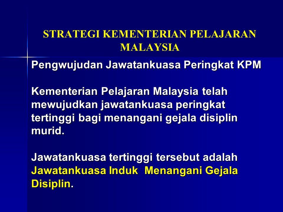 STRATEGI KEMENTERIAN PELAJARAN MALAYSIA
