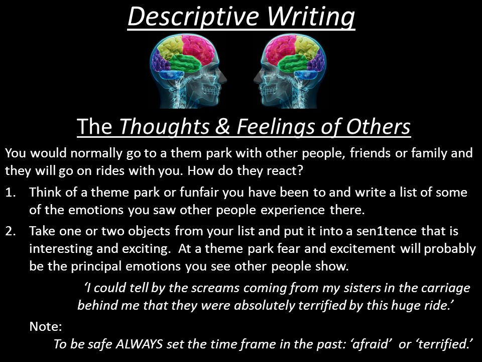 The Thoughts & Feelings of Others