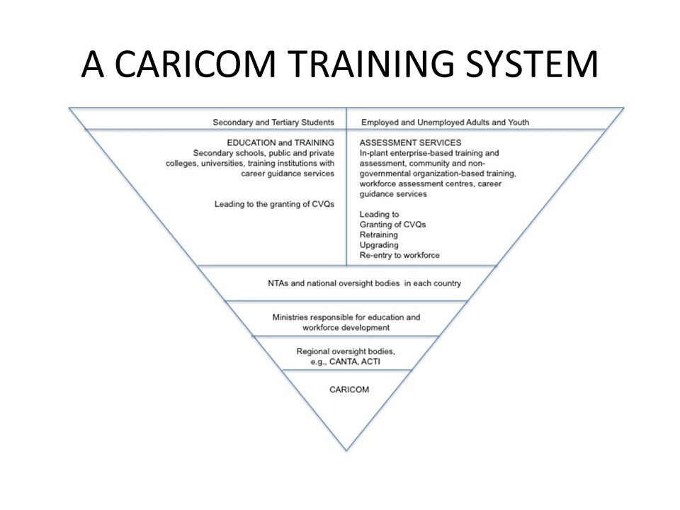 A CARICOM TRAINING SYSTEM