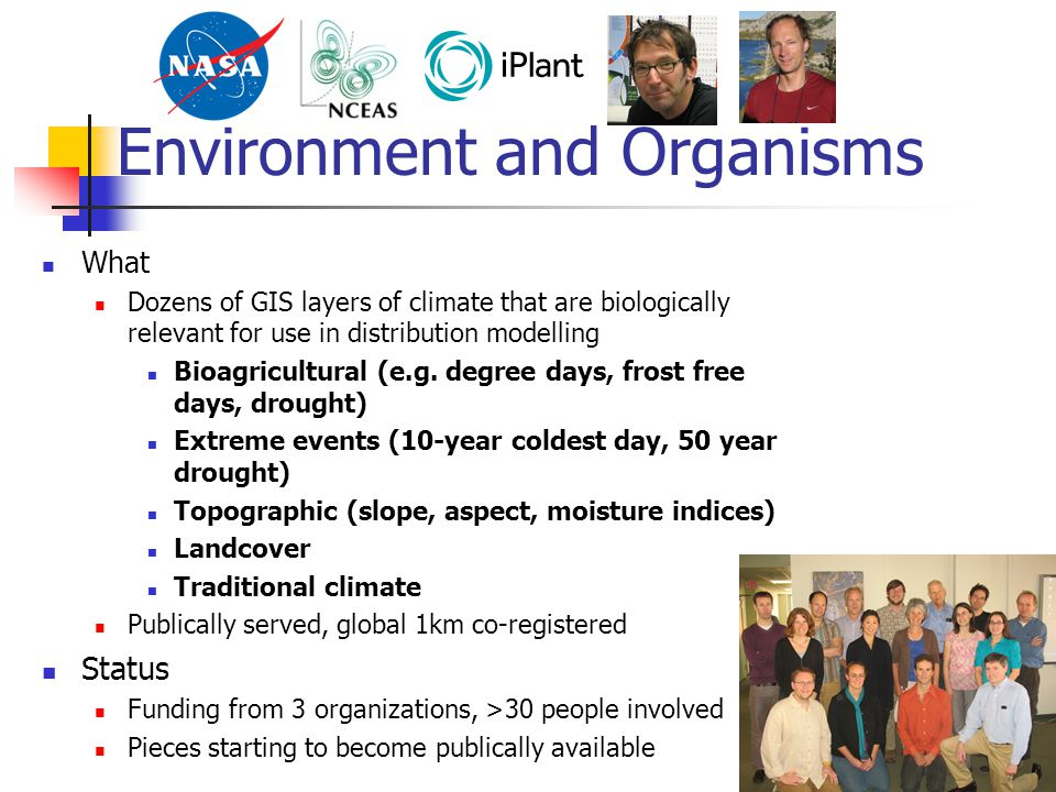 Environment and Organisms