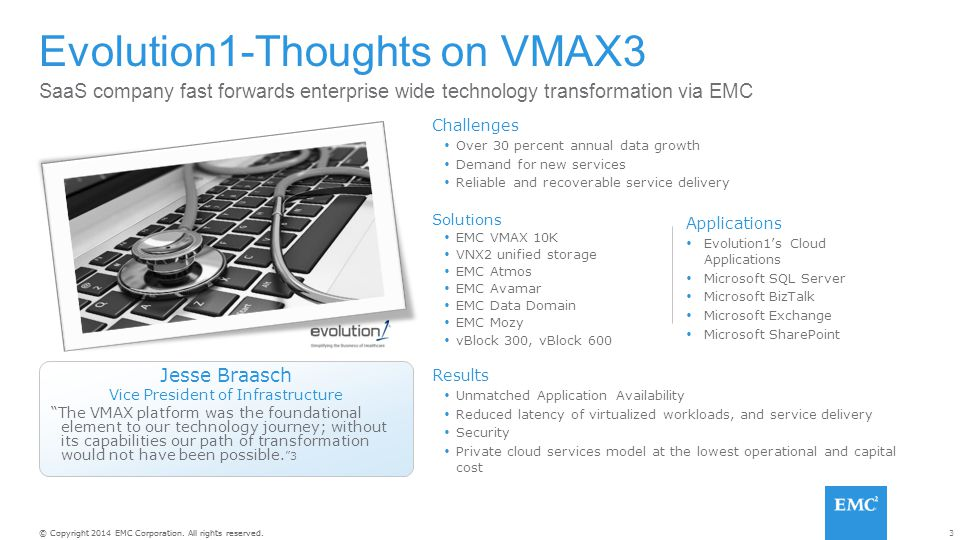 Evolution1-Thoughts on VMAX3