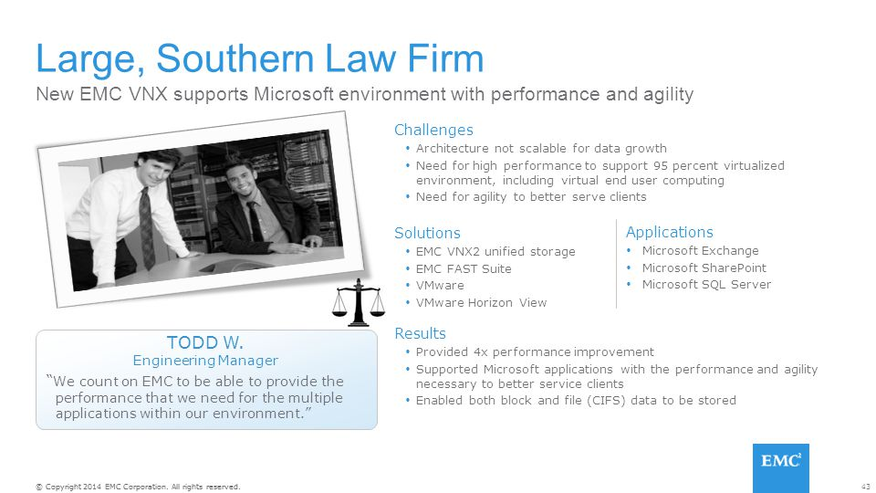 Large, Southern Law Firm