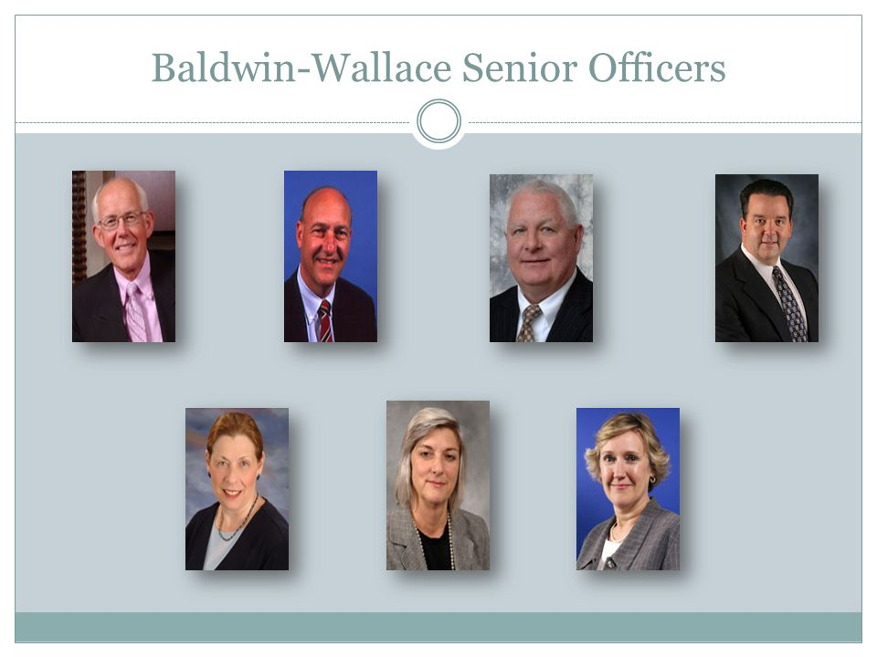 Baldwin-Wallace Senior Officers