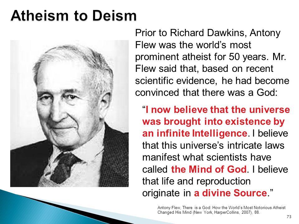 Atheism to Deism