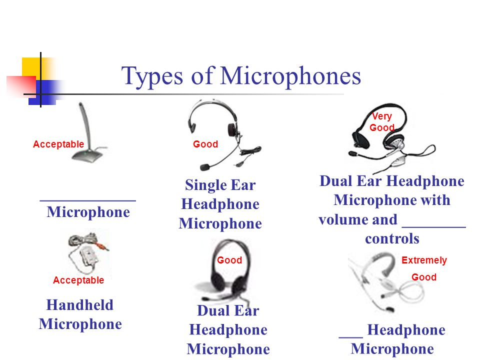 Microphone with volume and ________ controls ____________Microphone