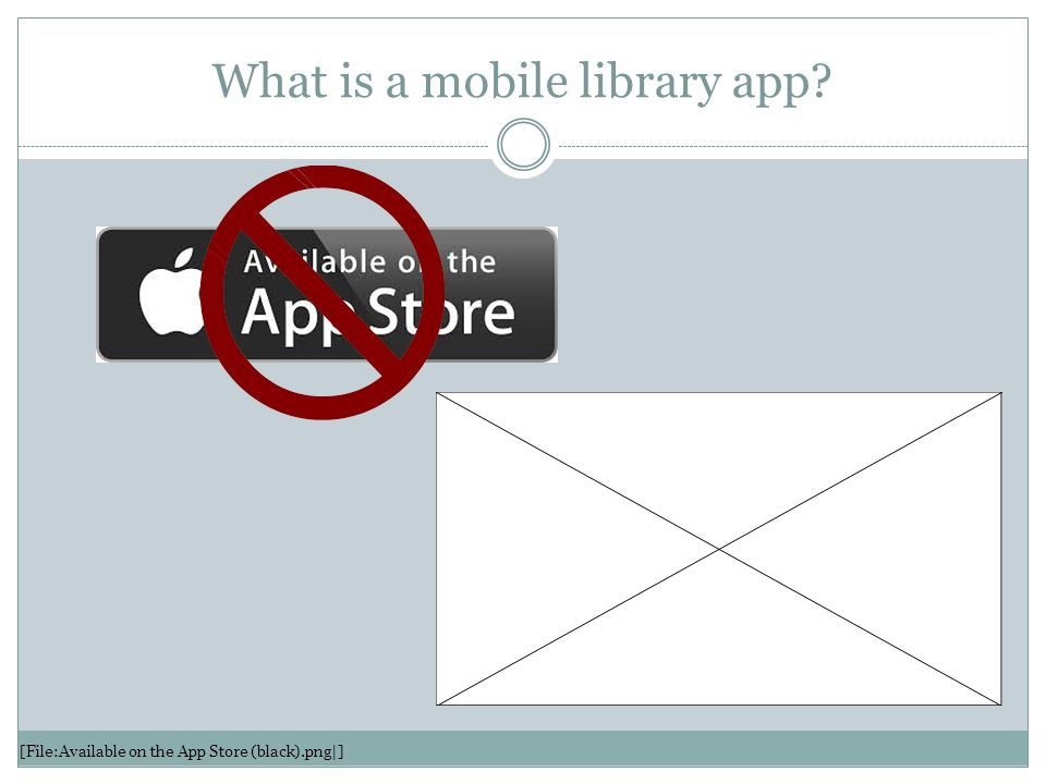 What is a mobile library app